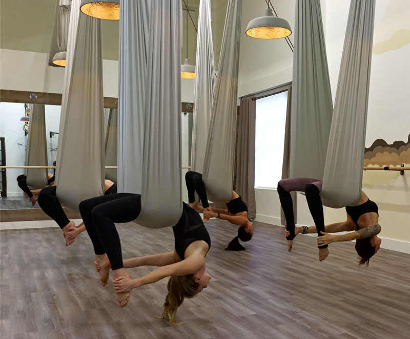 Arial Yoga at Yoga Bodies